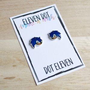 Sonic the Hedgehog Video Game Stud Earrings